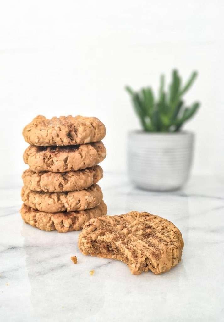 Biscuits avoine et beurre d'arachides